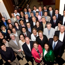 Martin Hunt and 2011 Global HBS Club Presidents