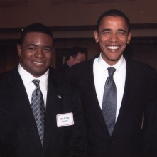 Martin Hunt and Barak Obama